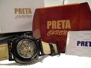 Preta Chrono Watch by Gene Simco