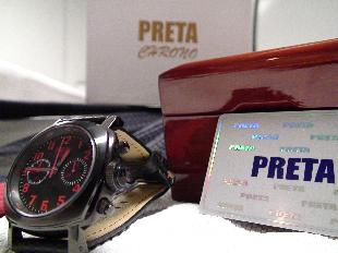 Preta Chrono Watches by Gene Simco